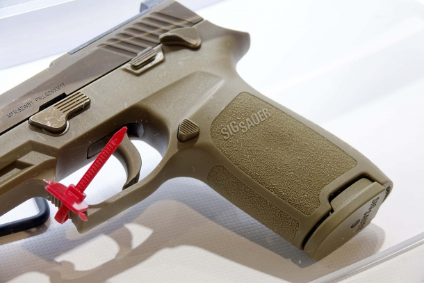 The SIG Sauer P320 was selected as the U.S. Army's new service pistol as the XM17
