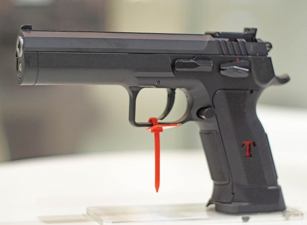 The prototype of the Tanfoglio Limited Custom P
