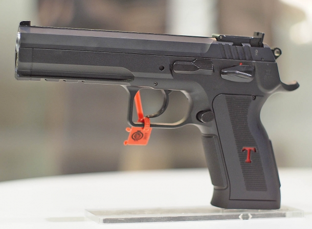 The prototype of the Tanfoglio Stock 3 P