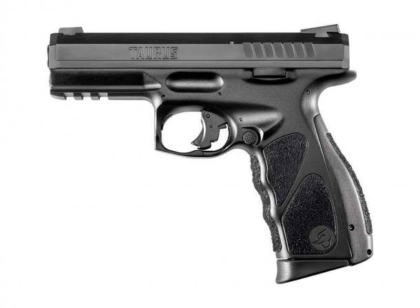 The Taurus TS striker-fired pistol