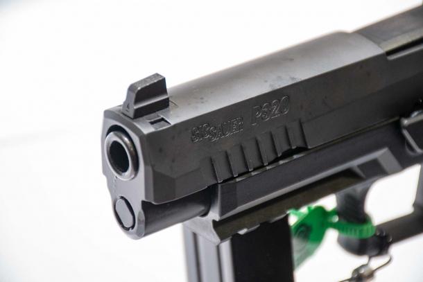 SIG Sauer P320 RXP, pistole striker con ottica integrata