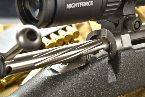 The bolt design on the Barrett Fieldcraft rifle is light and yet robust