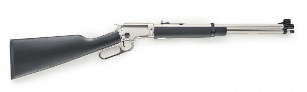 Side view of the LA322 Kodiak Cub rifle