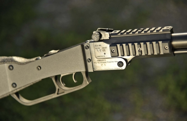 The design of the gun is spartan, but solid and reliable