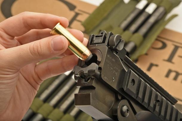 Load the cartridge