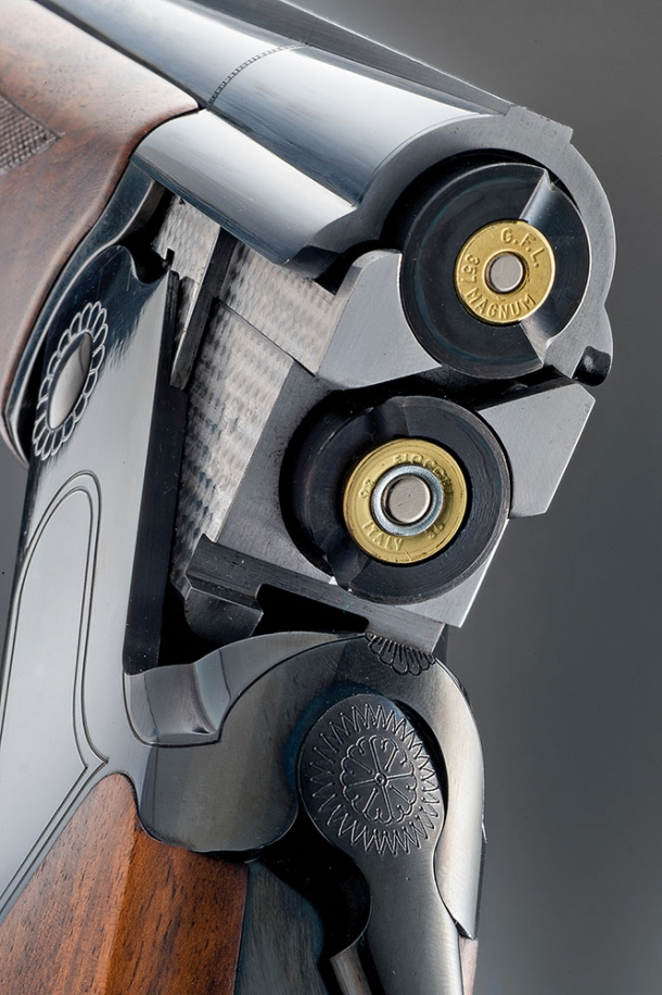 The X-Caliber kit adapters can be used in any 12 gauge shotgun