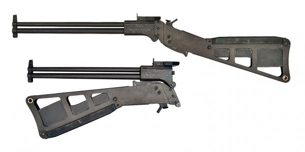 L'originale carabina da sopravvivenza M6 Air Crew Survival Weapon, adottata sul finire degli anni '50 dall'USAF per i suoi piloti: è a questa che si ispira la moderna carabina M6 di Chiappa Firearms