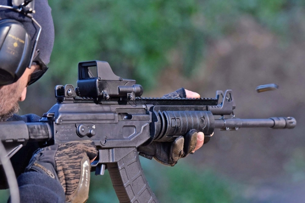 The IWI Galil ACE rifle in action