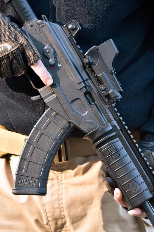 The rifle main body