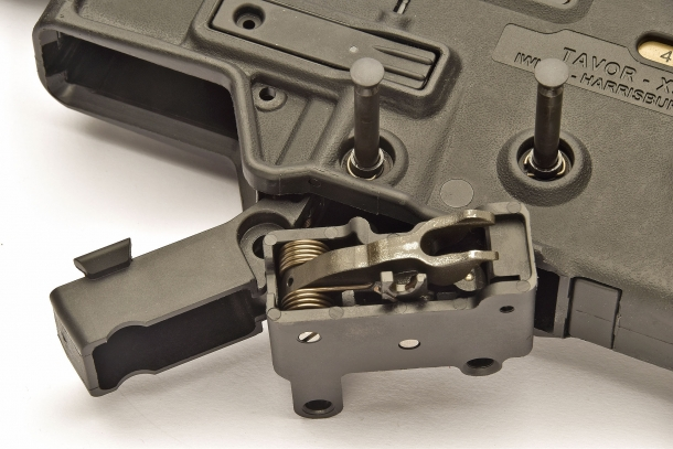 The Tavor X95 rifle is compatible with the Tavor SAR Gen.1 trigger group, but not vice-versa