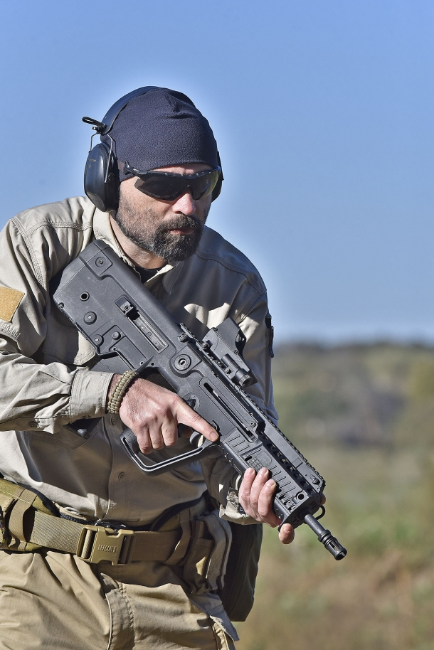 The bullpup layout makes the X95 an extremely compact and manageable semi-automatic rifle