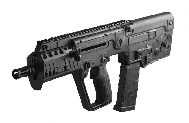The IWI X95 assault carbine as upgraded in 2015