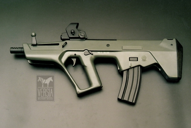 The first working prototype of the Tavor rifle