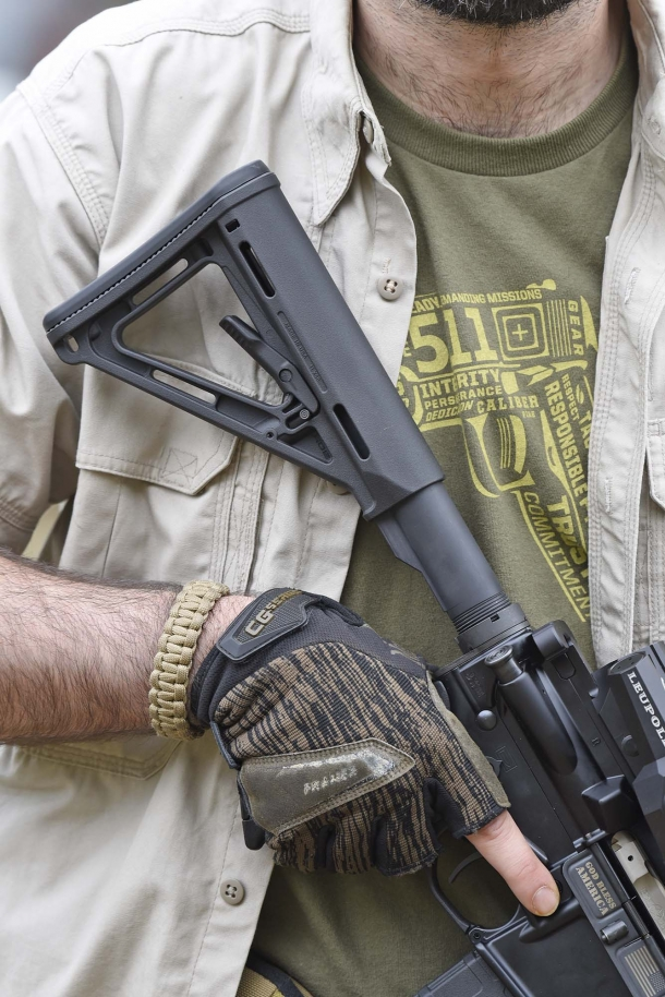 The MagPul MOE stock
