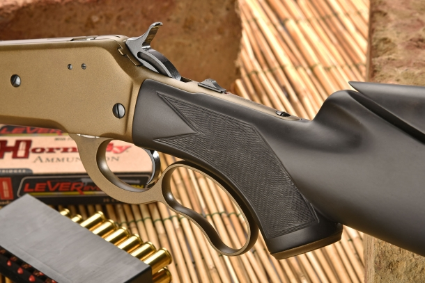 The Pedersoli Boarbuster Mark II is the most modern lever-action hunting rifle to come out of Italy