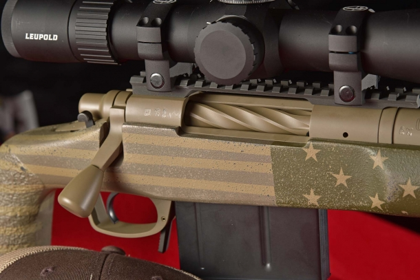 Remington 40-X Stars and Stripes