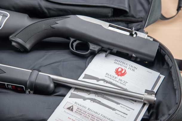 Ruger 10/22 Takedown .22 Long Rifle carbine