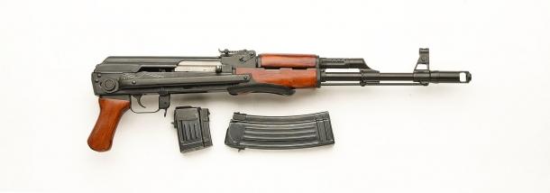 Lato destro dell'SDM AK-74