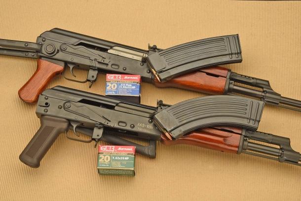 SDM AKS-74 (sopra) e SDM AKS-103 (sotto)
