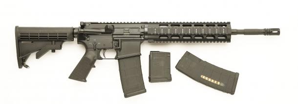 Vista laterale dello SDM M4 Carbine