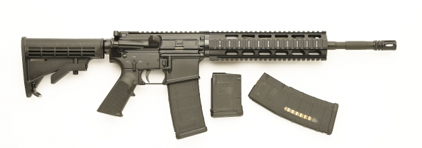Vista laterale dello SDM M4 Carbine