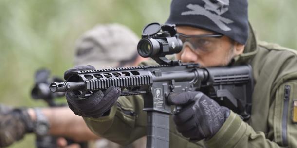 SDM M4 Commando in azione