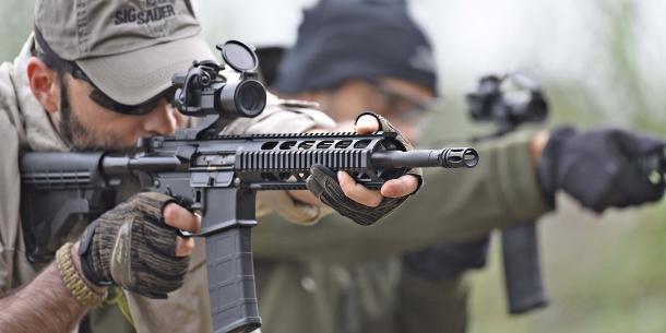 Lo SDM M4 Carbine in azione