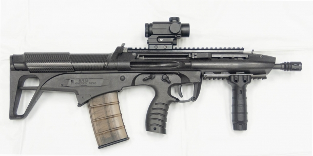 ST Kinetics BR18 bull-pup assault rifle - right side