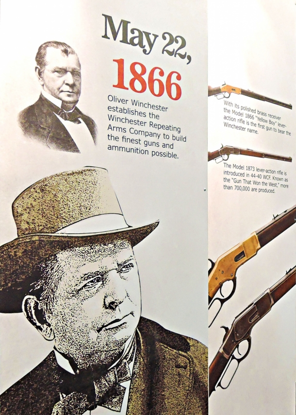 May 22 1866 marks the birth of the Winchester Repeating Arms Company