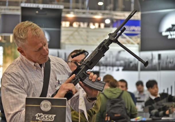 La MG556 ha catturato l'attenzione del pubblico all'IWA di quest'anno