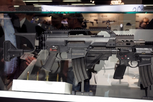 The HK237 is a variant of the G36C chambered for the .300 AAC Blackout and .300 Whisper calibers
