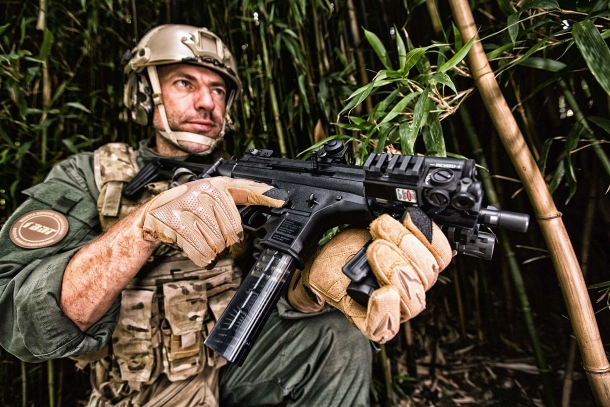 The Beretta PMX sub-machine gun has been introduced at the 2017 MILIPOL expo in Paris