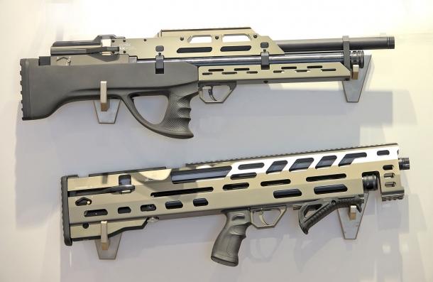 Le carabine Evanix Rainstorm e Max-ML, d'impostazione Bull-pup