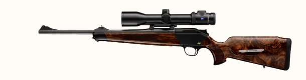 The Blaser R8 Compact is known as the 'Intuition' model in Europe