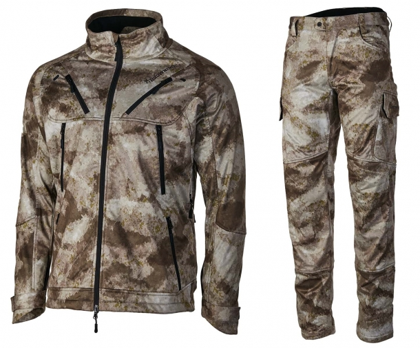 The Browning Hell's Canyon II jacket and trousers in A-TACS AU camo