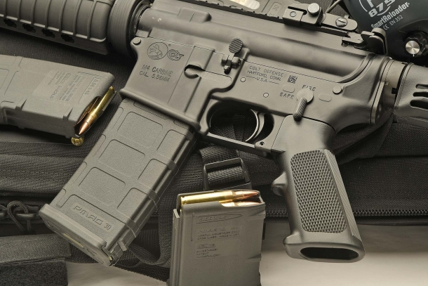Colt halts production of rifles for the civilian market... why?