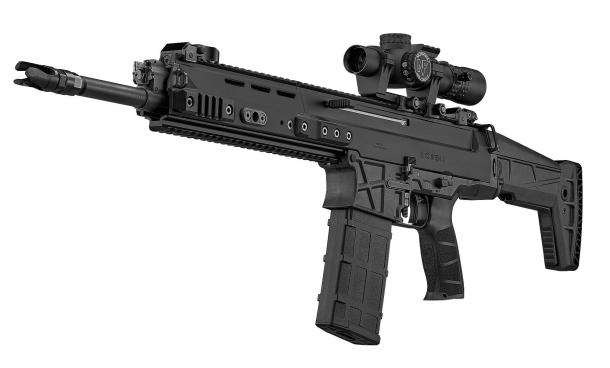 Il CZ BREN 2 BR è la versione 'Battle Rifle' del sistema BREN come recentemente rinnovato