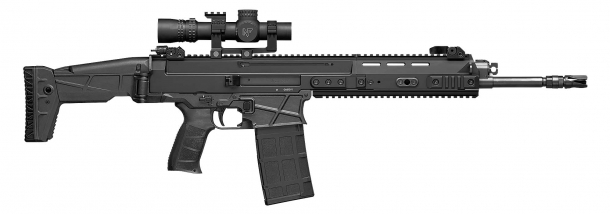 The CZ BREN 2 BR is a modular, versatile battle rifle