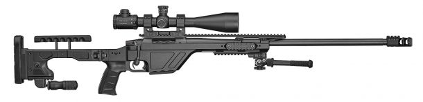 The CZ TSR bolt-action rifle is based on the tried and true CZ-557 action