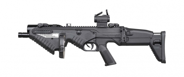Lanciatore FN 303 Tactical, lato sinistro