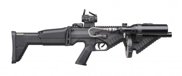 Lanciatore FN 303 Tactical, lato destro