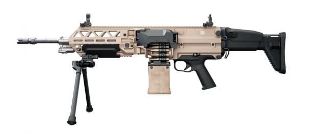 FN EVOLYS light machinegun in 7,62x51mm NATO caliber, left side