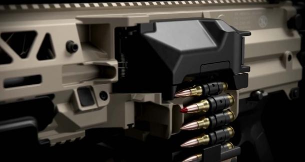 FN EVOLYS 7.62mm and 5.56mm light machine guns