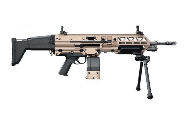 FN EVOLYS light machinegun in 5.56x45mm NATO caliber, right side