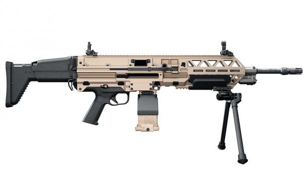 FN EVOLYS light machinegun in 7,62x51mm NATO caliber, right side