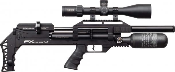 Carabina ad aria compressa FX Airguns Maverick, versione Compact