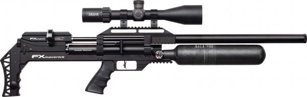 Carabina ad aria compressa FX Airguns Maverick, versione Sniper