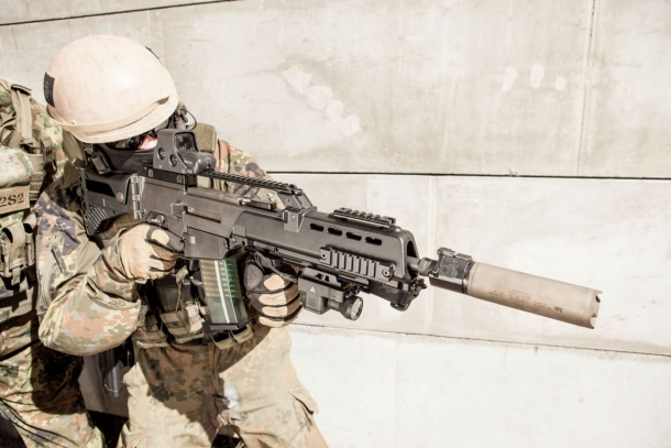 The German military is in the process of selecting a rifle that will supersede the G36