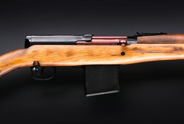 The KO-SVT is a modern day replica of the Tokarev SVT-40 rifle