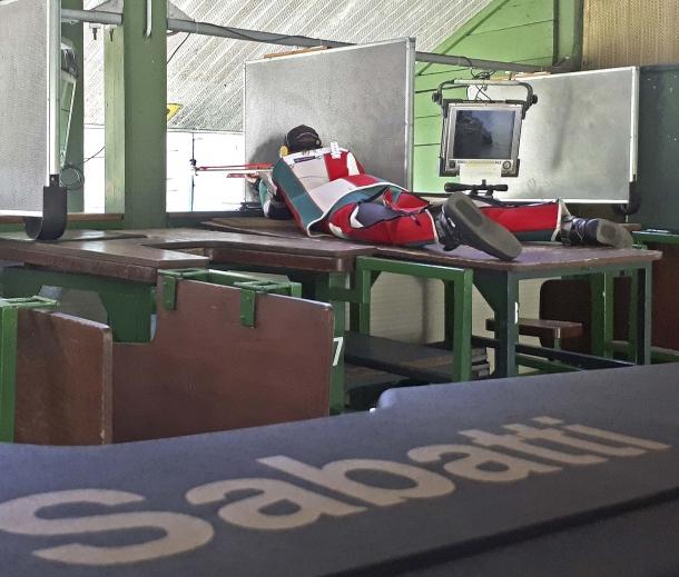 Riccardo Ranzani utilizza due carabine Sabatti STR Sport in calibro .308 Winchester e 6mm BR Norma